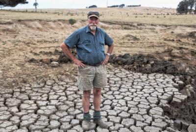 NSW farmer during drought