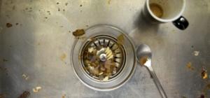 Organic waste in kitchens